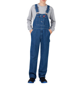 DICKIES Kid's Denim Bib Overalls KB3102