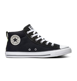 CHUCK TAYLOR ALL STAR  STREET MID BLACK/WHITE/BLACK C098BW-166977C