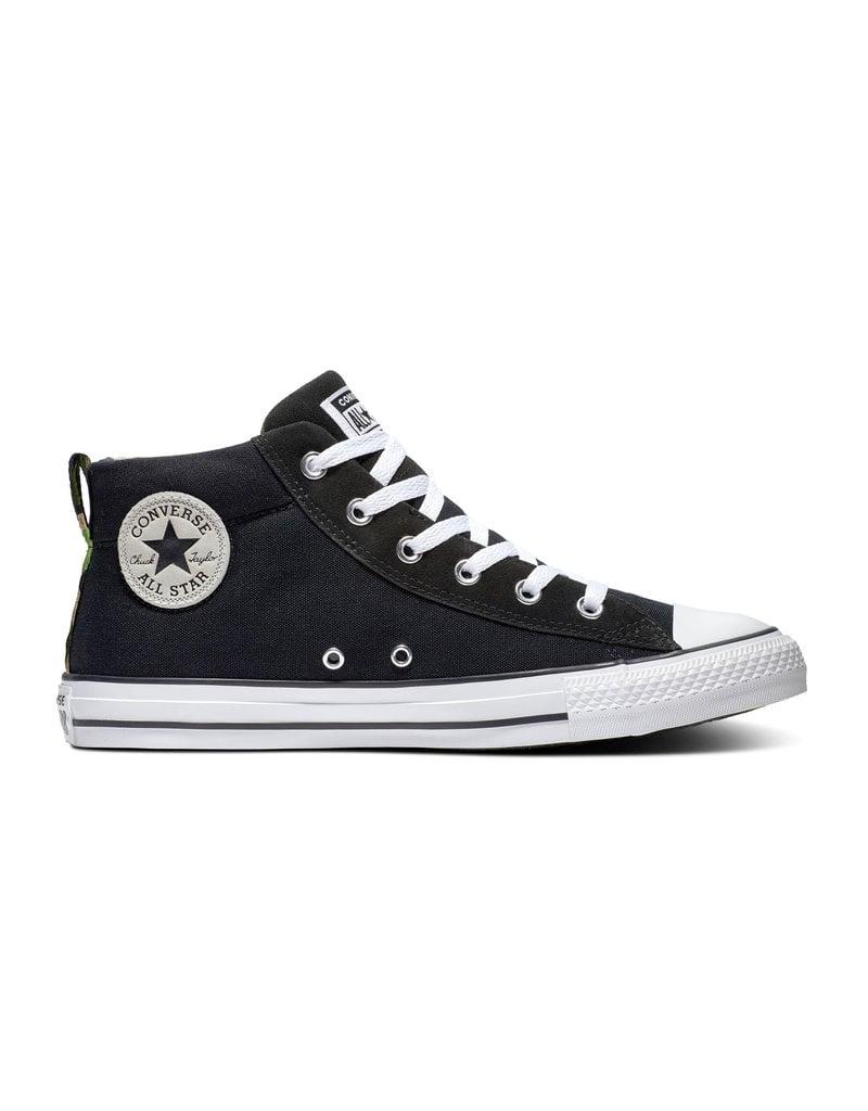 CHUCK TAYLOR ALL STAR STREET MID BLACKWHITEBLACK C098BW 166977C
