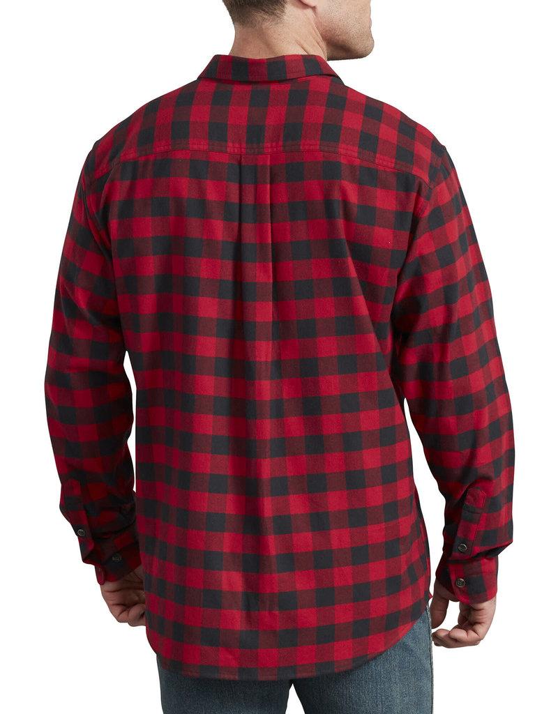 DICKIES Dickies FLEX Long Sleeve Flannel Shirt WL650