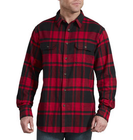 DICKIES Dickies Heavyweight Long Sleeve Flannel Shirt WL652