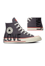 CONVERSE CHUCK 70 HI THUNDER GREY/UNIVERSITY RED C070LOV-567153C