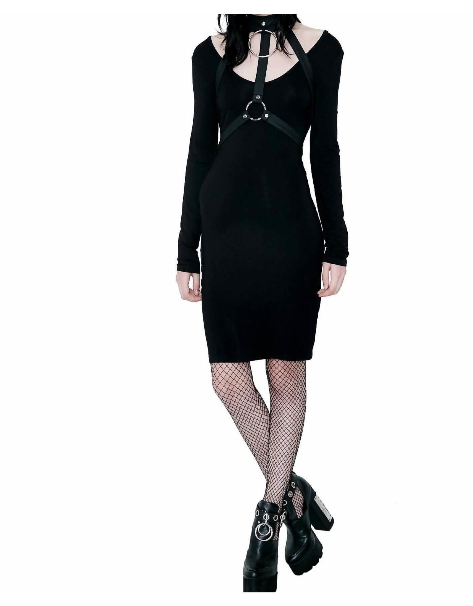 KILLSTAR - Jett Black She's Hot Dress