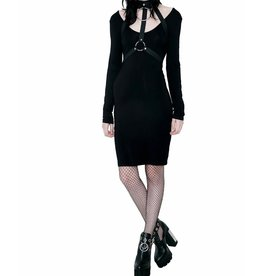 KILLSTAR - Jett Black She's Hot Dress