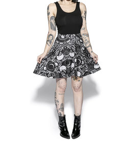 BLACKCRAFT CULT - Brushed Baroque Skater Skirt