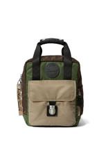 DR. MARTENS - Small Flight Brown + Sand Nylon Backpack