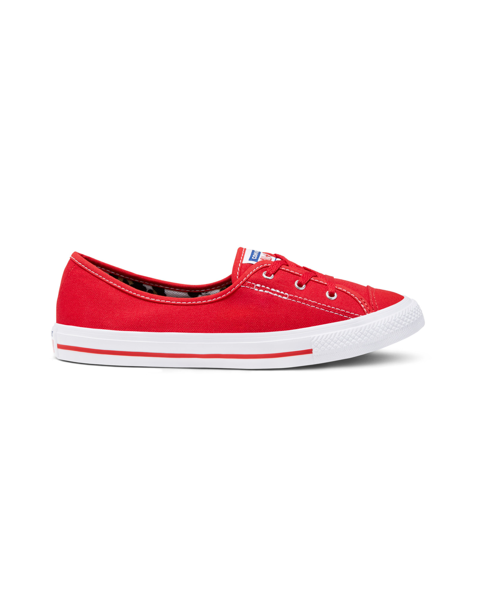 CONVERSE CHUCK TAYLOR ALL STAR  BALLET LACE SLIP UNIVERSITY RED C083R-566779C