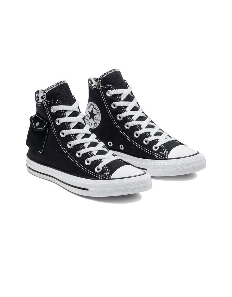 CHUCK TAYLOR ALL STAR  POCKET HI BLACK/WHITE/BLACK C20POB-167044C