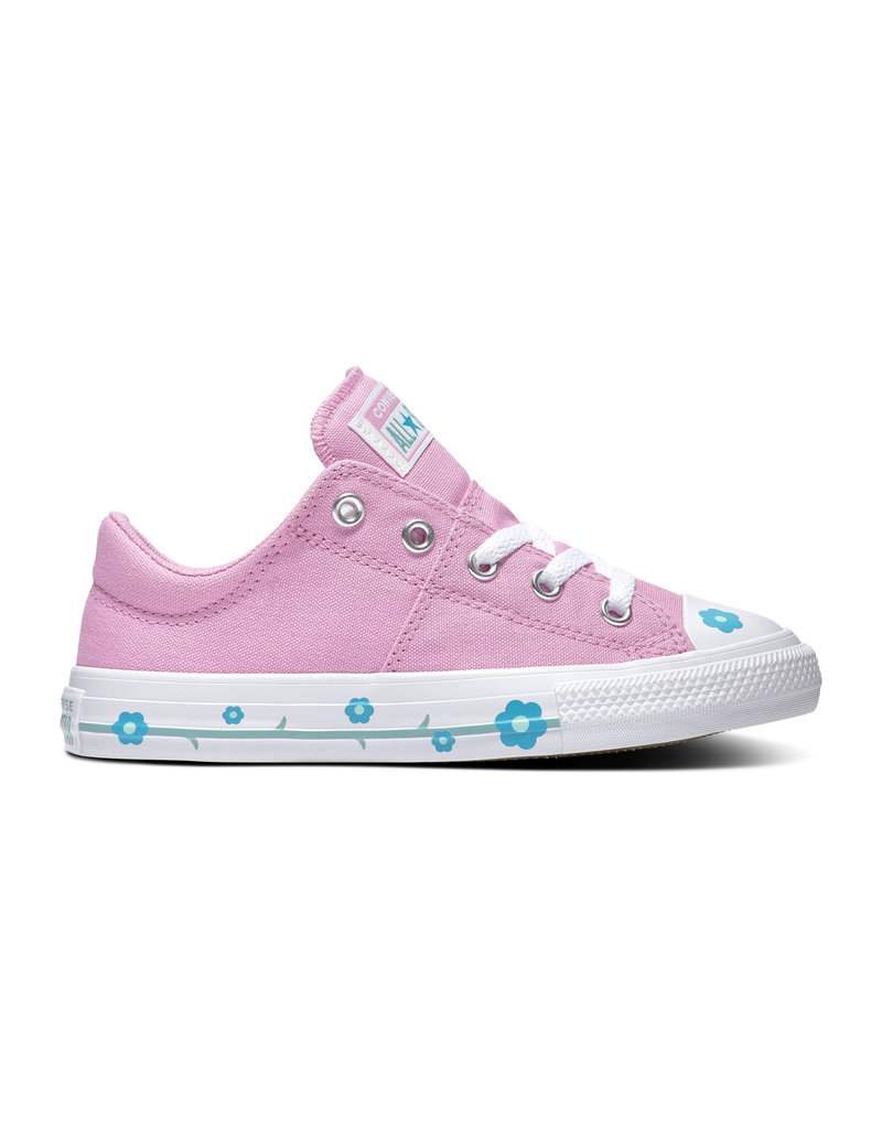CONVERSE CHUCK TAYLOR ALL STAR  MADISON OX PEONY PINK/RAPID TEAL CAMOP-666920C