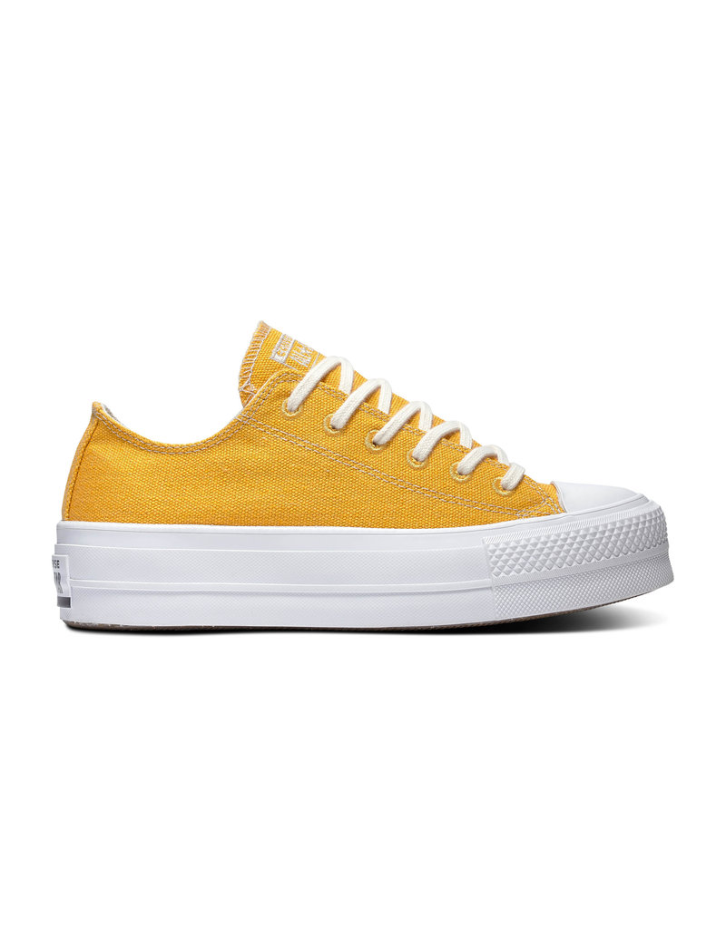 CONVERSE CHUCK TAYLOR ALL STAR  LIFT OX SUNFLOWER GOLD/WHITE/WHITE C14PSU-567104C