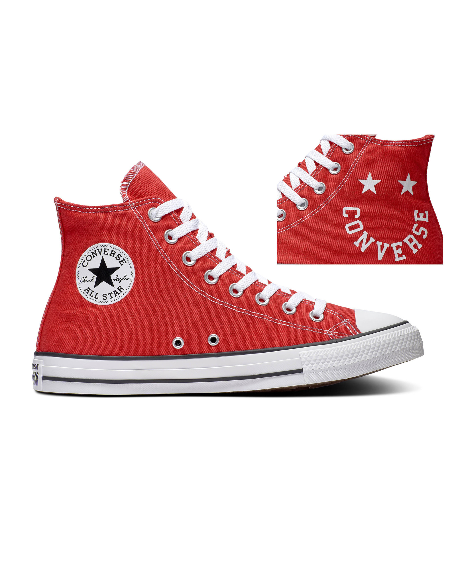 CONVERSE CHUCK TAYLOR ALL STAR  HI UNIVERSITY RED/BLACK/WHITE C20HAR-167069C