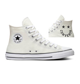CHUCK TAYLOR ALL STAR  HI EGRET/BLACK/WHITE C20HAW-167067C