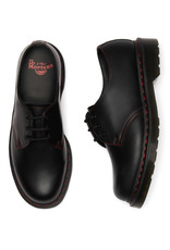 DR. MARTENS 1461 RED STITCH BLACK SMOOTH 301BRS-R25829001