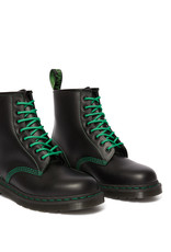 DR. MARTENS 1460 GREEN STITCH BLACK SMOOTH 815BGS-R25826001