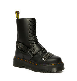 DR. MARTENS JADON HI STUD BLACK SMOOTH 1053BST-R25761001