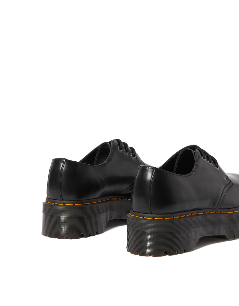 DR. MARTENS 1461 QUAD BLACK POLISHED SMOOTH 302B-R25567001