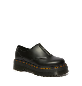 DR. MARTENS AURIAN II QUAD BLACK POLISHED SMOOTH M13BZ-R25451001