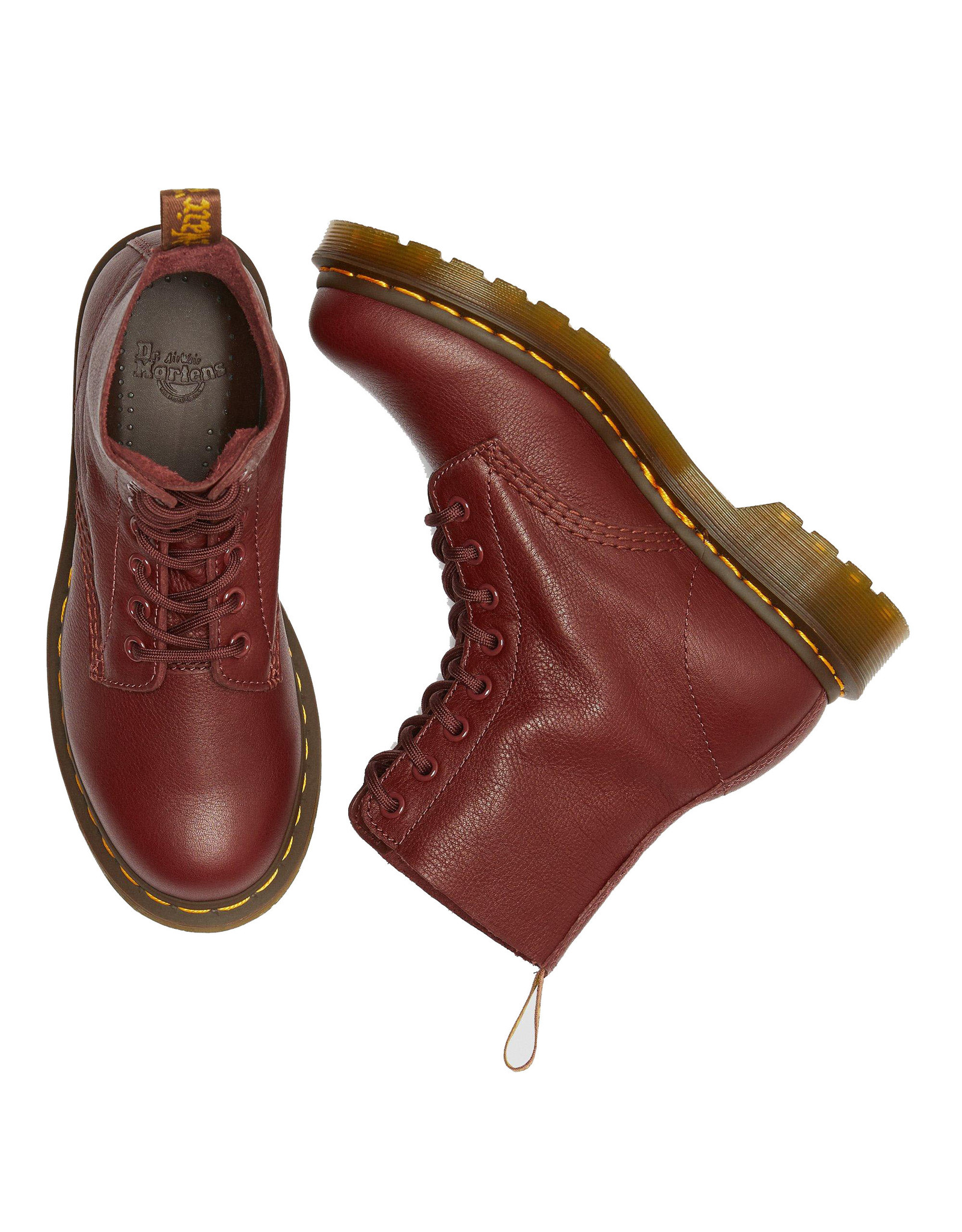 DR. MARTENS PASCAL CHERRY RED VIRGINIA 815CRV-R13512411