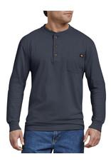 DICKIES Long Sleeve Heavyweight Henley Shirt WL451
