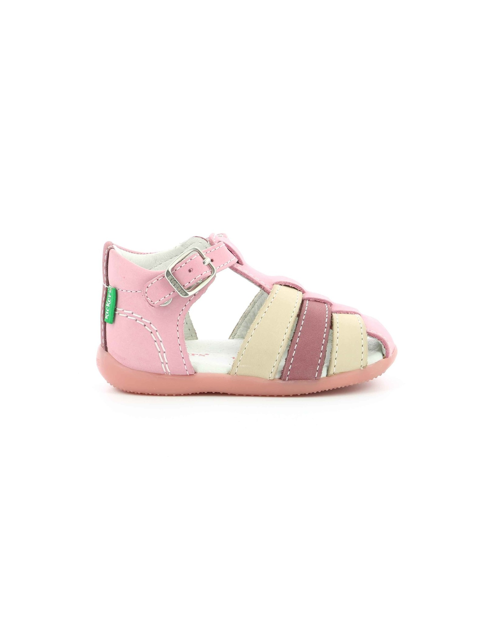 KICKERS BIGFLY-2 ROSE TRICOLORE KT22RT 472067-10+132