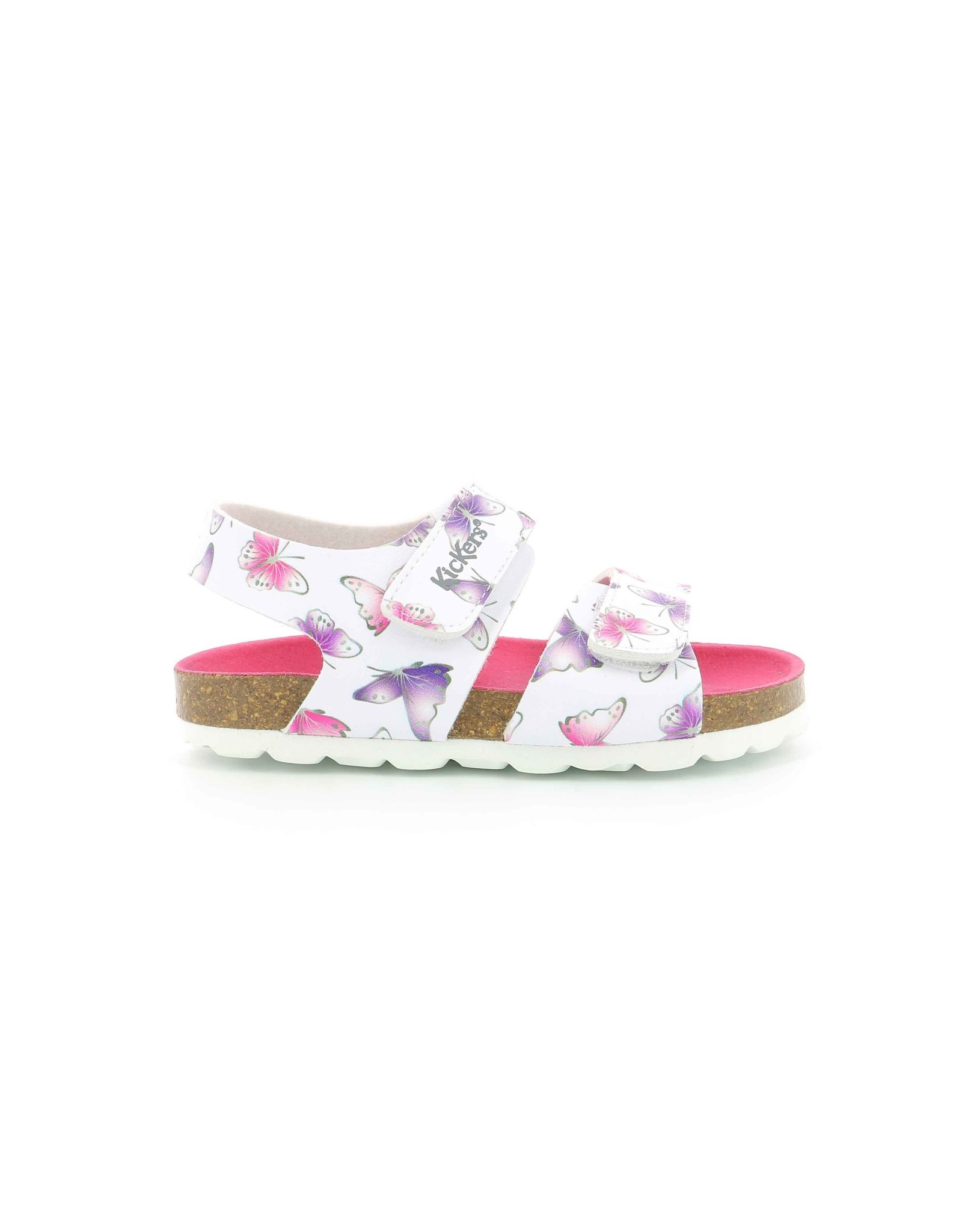 KICKERS SUMMERKRO BLANC PAPILLON KT75BP 785452-10+33