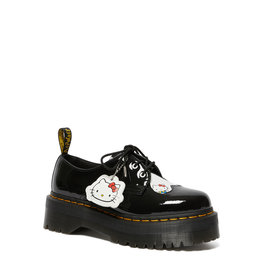 DR. MARTENS 1461 QUAD HELLO KITTY BLACK PATENT LAMPER 302HK-R25912009