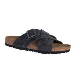 BIRKENSTOCK Lugano Camberra Iron Oiled Leather R LU-IOL-R 1015570