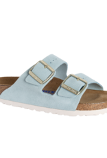 BIRKENSTOCK Arizona Soft Footbed Light Blue Suede N AR-SBSU-N 1016393