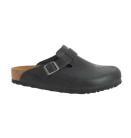 BIRKENSTOCK Boston NU Oiled Black R BO-OBOL-R 59461