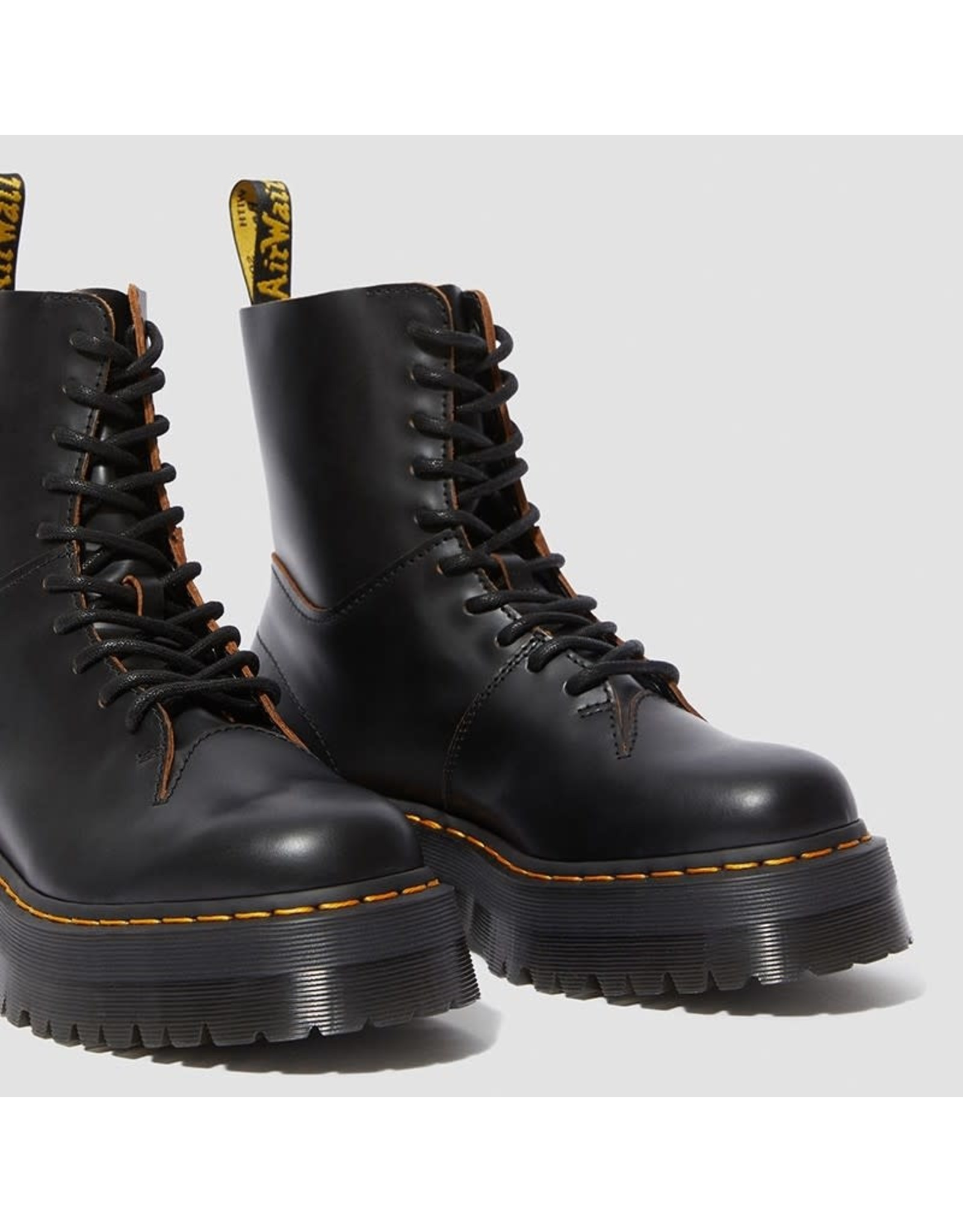DR. MARTENS JADON DECON BLACK VINTAGE SMOOTH 1053BD-R25240001