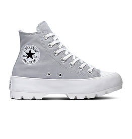 CONVERSE CHUCK TAYLOR ALL STAR  LUGGED HI WOLF GREY/BLACK/WHITE C094WO-567162C