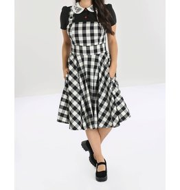 HELL BUNNY - Victorine Pinafore Dress