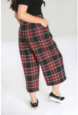 HELL BUNNY - Red Riot Culottes