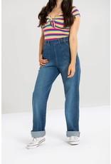 HELL BUNNY - Cassidy Denim Jeans