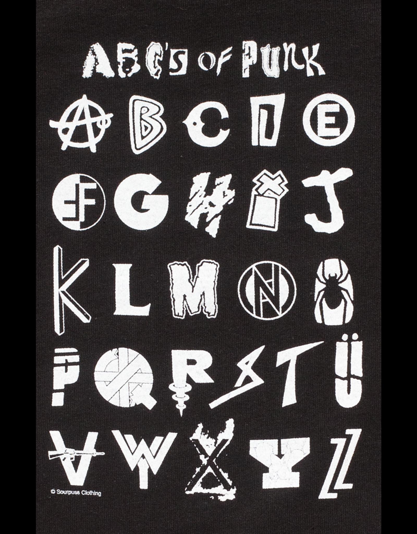 SOURPUSS - ABC's Of Punk Tee