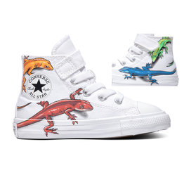 CONVERSE CHUCK TAYLOR AS 1V HI WHITE/SEDONA RED/BLACK CLEZ-767944C
