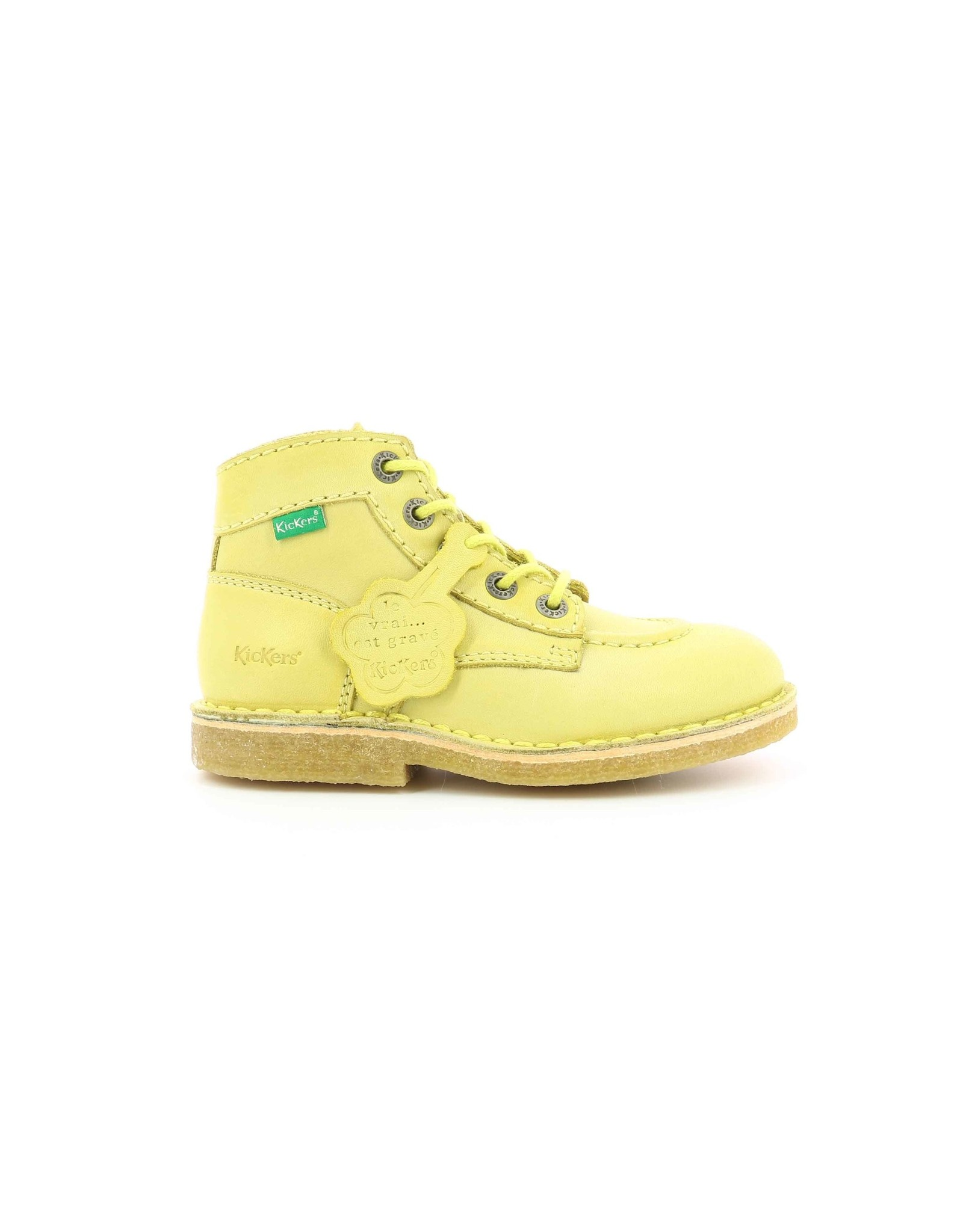 KICKERS KICK LEGEND JAUNE CLAIR KT80JC 660243-30+71