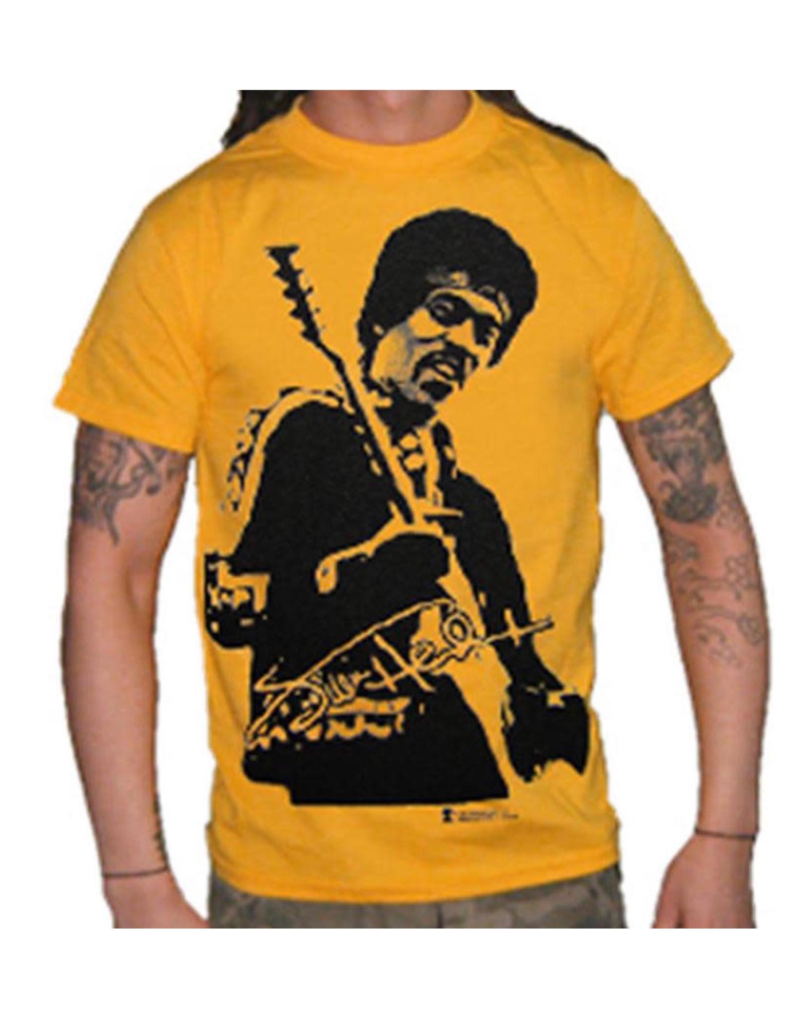 "Jimi Hendrix ""Jumbo Photo Yellow"" T-Shirt"