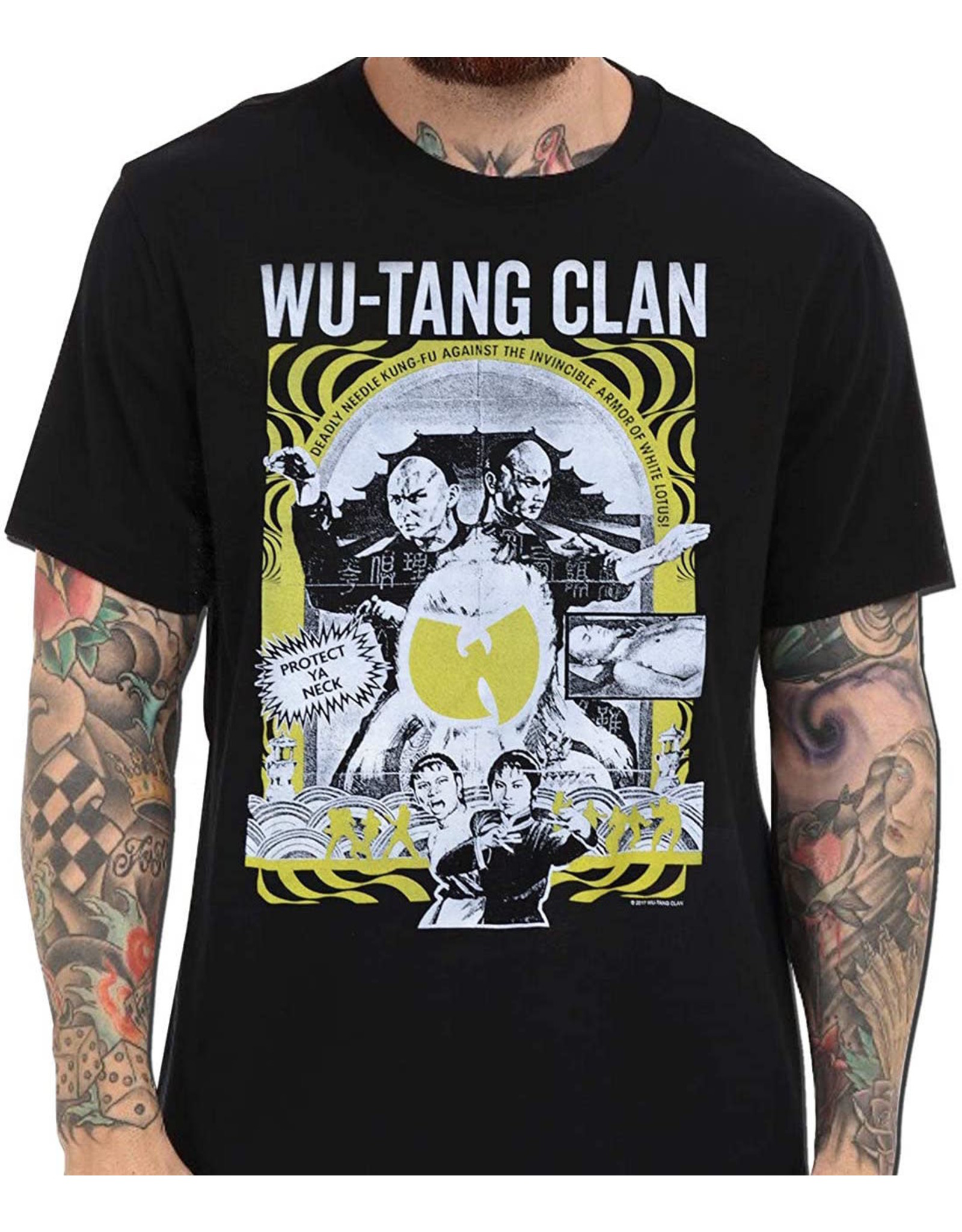 "Wu Tang Clan ""Deadly Needle Kung Fu"" T-Shirt"
