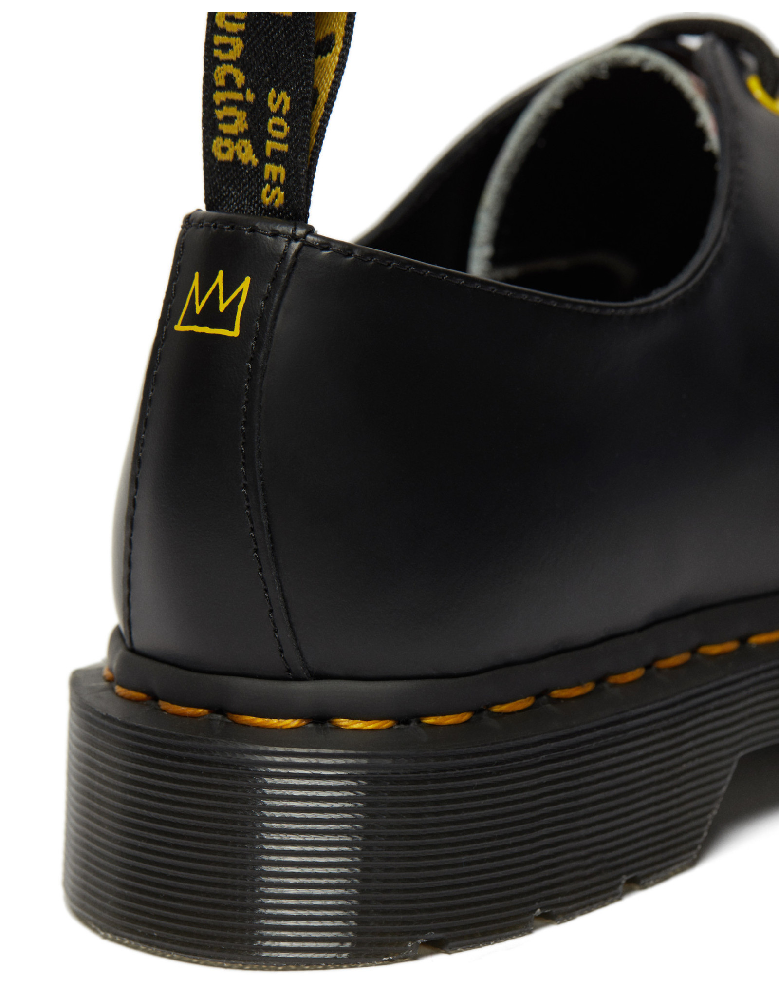 DR. MARTENS 1461 BASQUIAT WHITE & BLACK BACKHAND & SMOOTH  301BAS-R26320001
