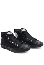 CONVERSE CHUCK TAYLOR STREET MID BLACK/BLACK/BLACK C098BLA-168725C