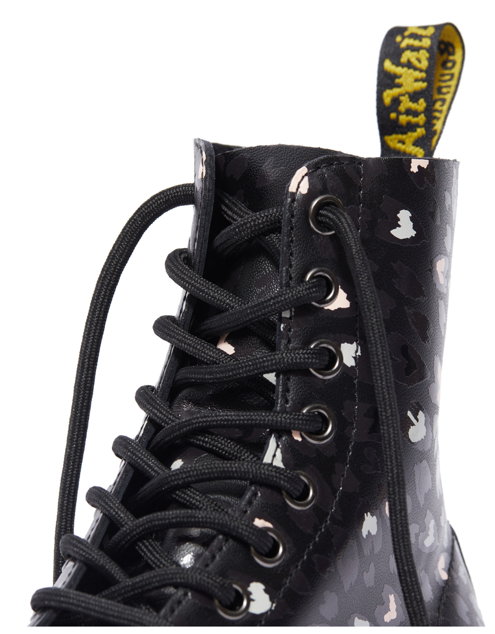 DR. MARTENS 1460 PASCAL WILD HEARTS BLACK BACKHAND 815BWH-R25481001