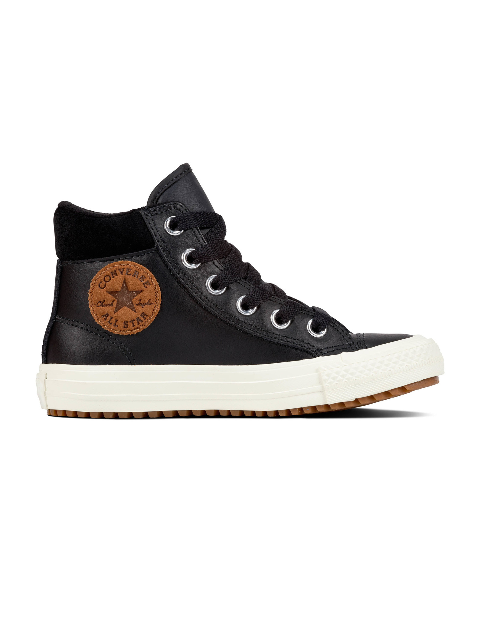 CONVERSE CHUCK TAYLOR PC BOOT HI BLACK/BURNT CARAMEL CAWB-661906C