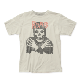 "Misfits ""Classic Skull Vintage"" White T Shirt"