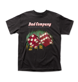 "Bad Company ""Straight Shooter"" T Shirt"