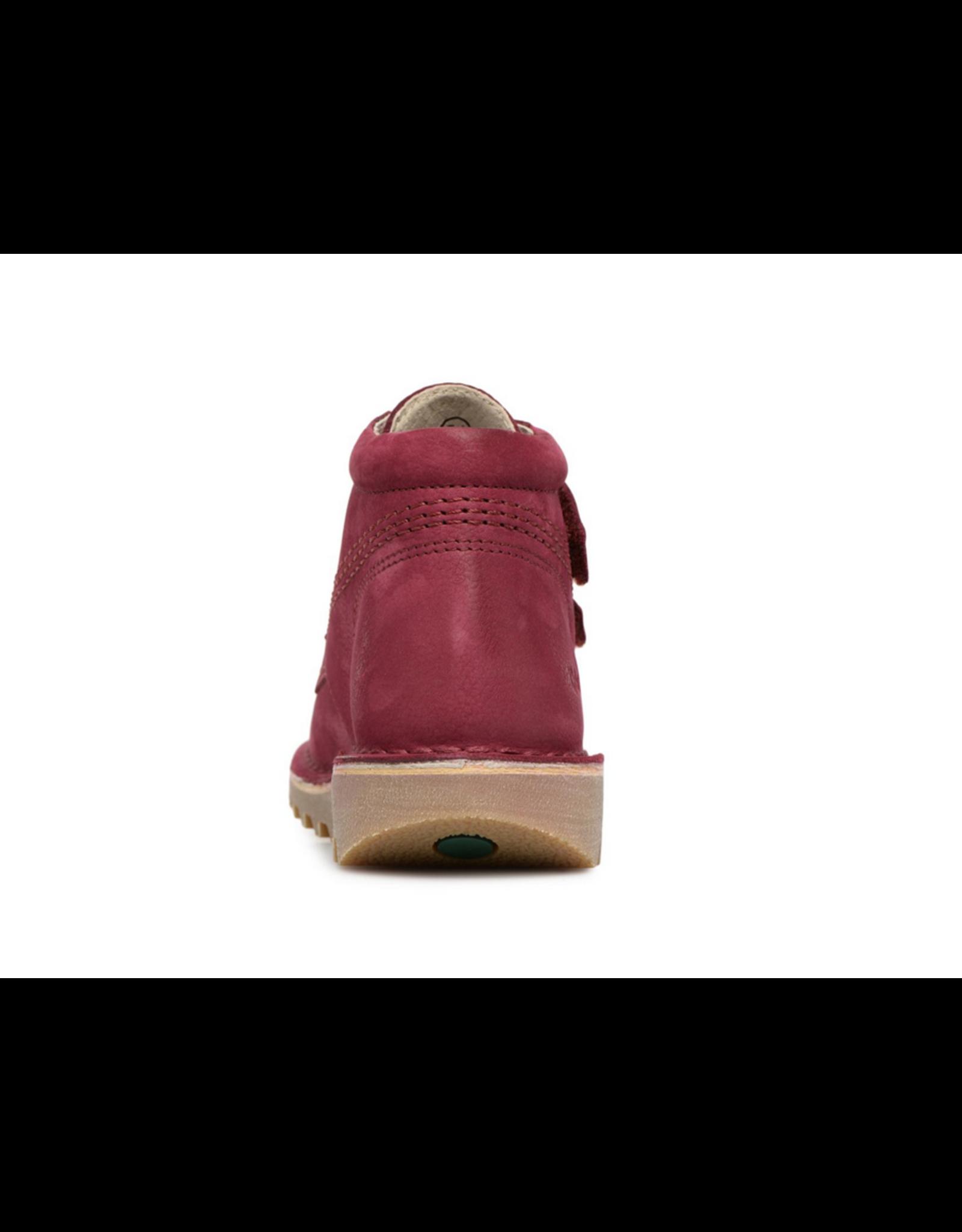 KICKERS NEOVELCRO ROSE FONCE KR70RF 18H655163-30