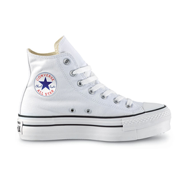 CONVERSE CHUCK TAYLOR ALL STAR LIFT HI WHITE/BLACK/WHITE C19PW-560846C