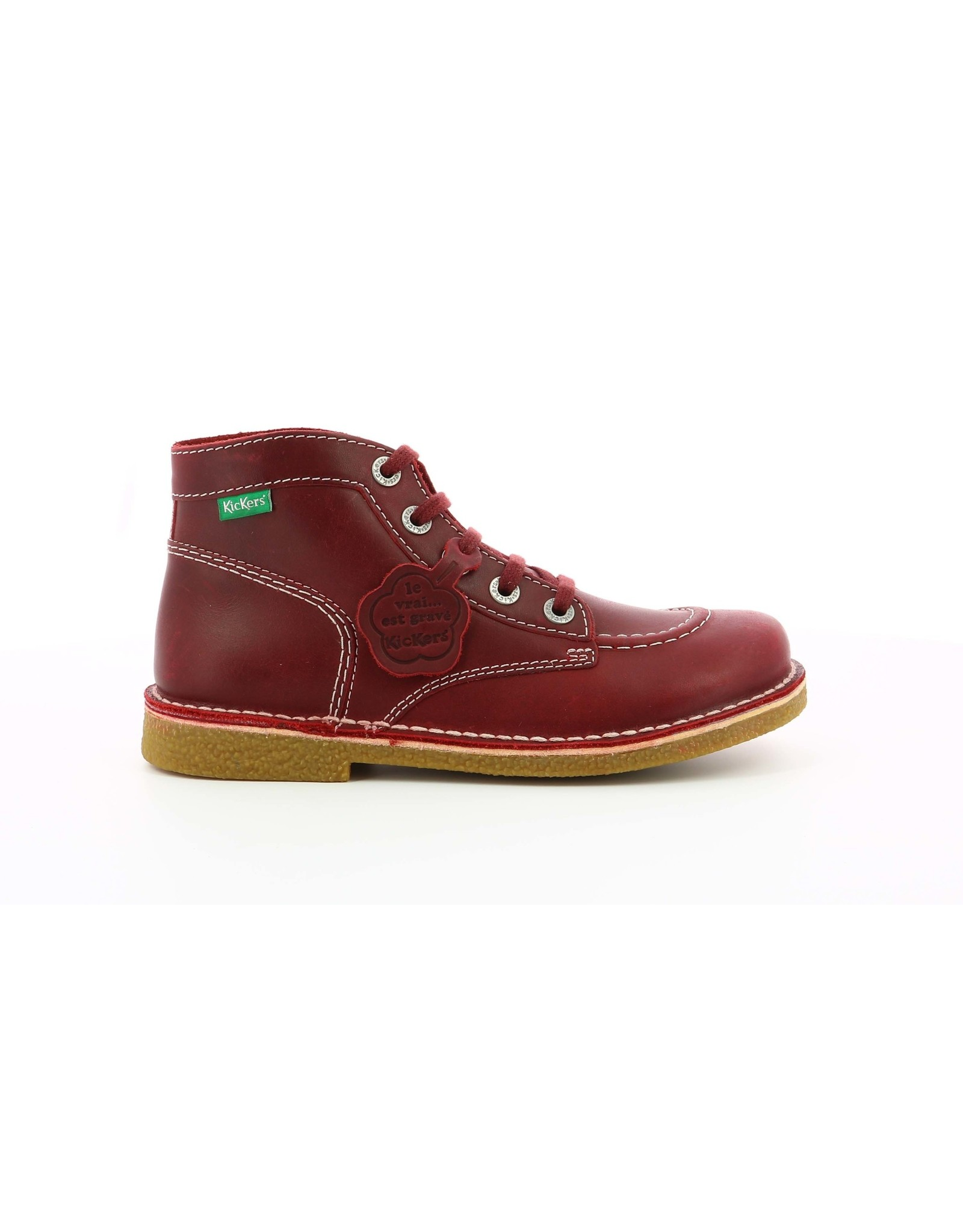KICKERS LEGENDIKNEW ROUGE FONCE K2083RF 20H828760-50+42