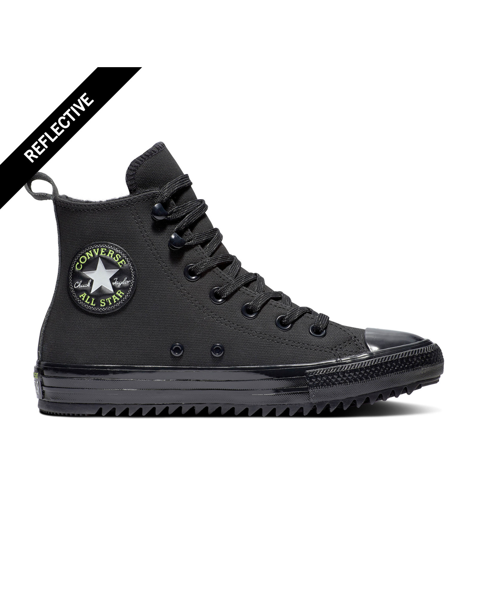 CONVERSE CHUCK TAYLOR ALL STAR HIKER BLACK/LEMON VENOM/BLACK  C20BOR-169461C