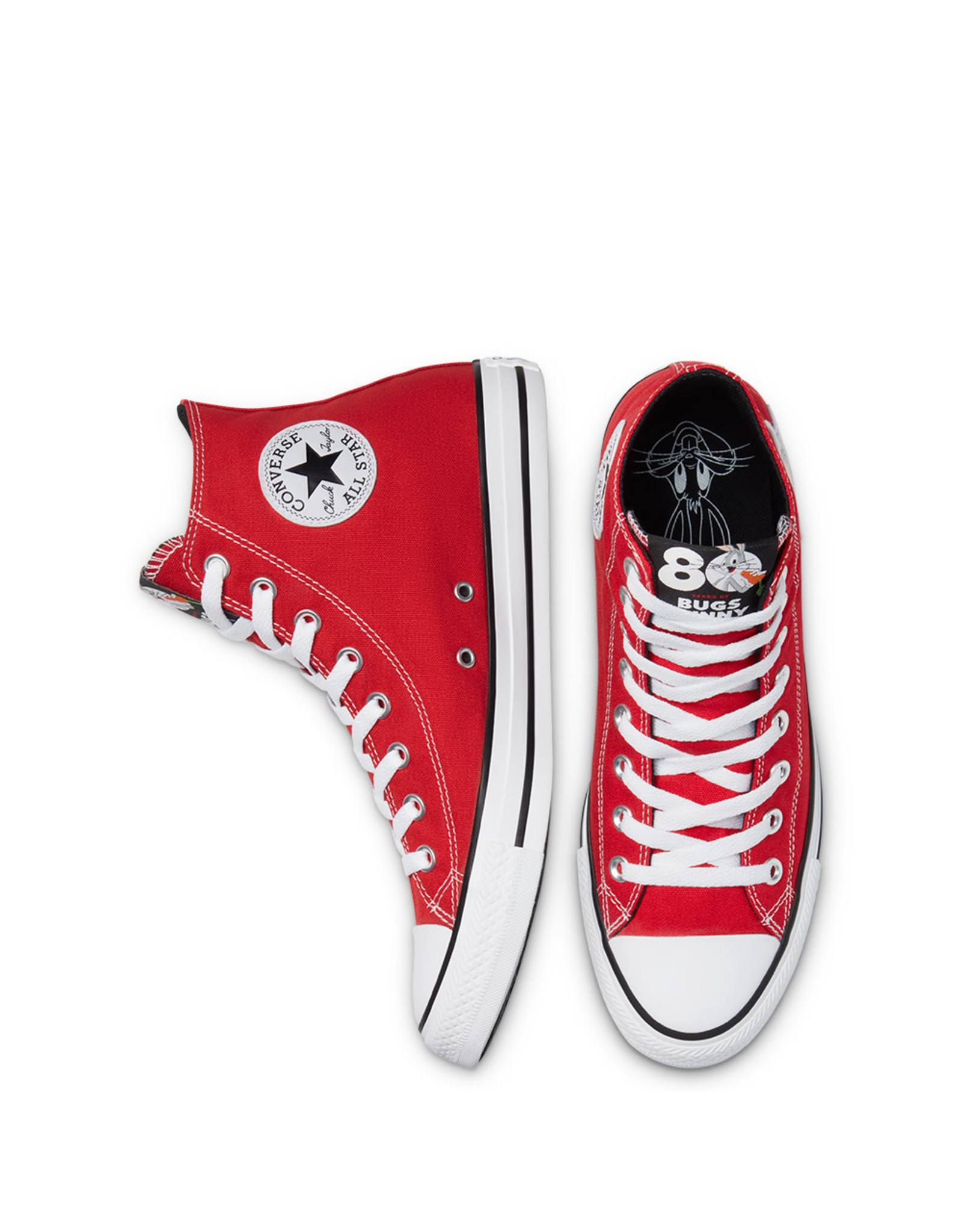 CONVERSE CHUCK TAYLOR HI BUGS BUNNY RED/WHITE/BLACK C20BUGR-169224C